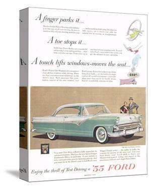 Ford 1955 a Finger Parks it