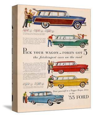 Ford 1955 Pick Your Wagon