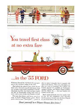 Ford 1955 - Travel First Class