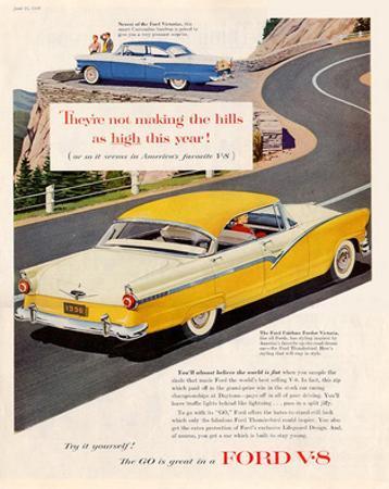Ford 1956 Victoria V8