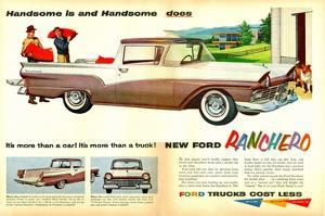 Ford 1957 Ranchero - Handsome