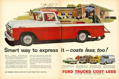 Ford 1957 Smart Way to Express