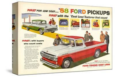 Ford 1958 `58 Ford Pickups