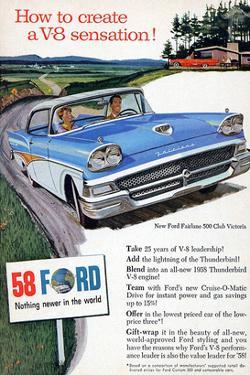 Ford 1958 - a V8 Sensation
