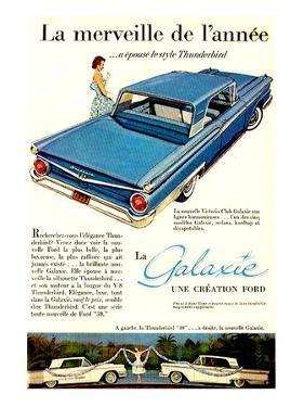 Ford 1959 Galaxie Merveille