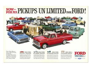 Ford 1963 Pickups Unlimited