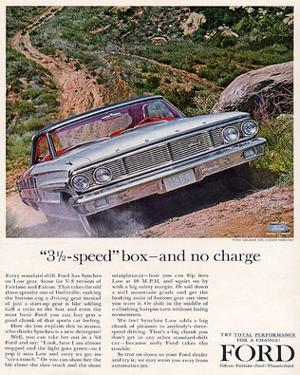 Ford 1964 3½-Speed Box