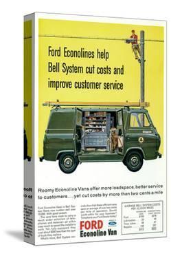 Ford 1964 Roomy Econoline Vans