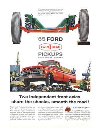 Ford 1965 Twin-I-Beam Pickups