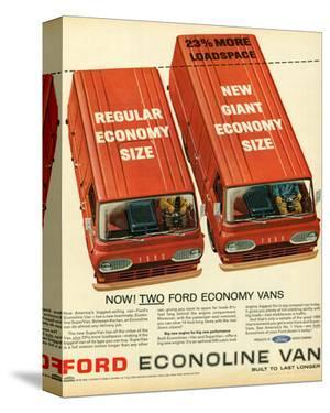 Ford 1965 Two Economy Vans