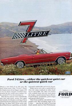 Ford 1966 Quiet Quick 7 Litre