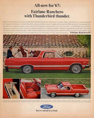 Ford 1967 Fairlane Ranchero