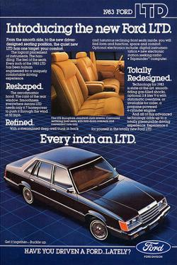 Ford 1983 Introducing the Ltd