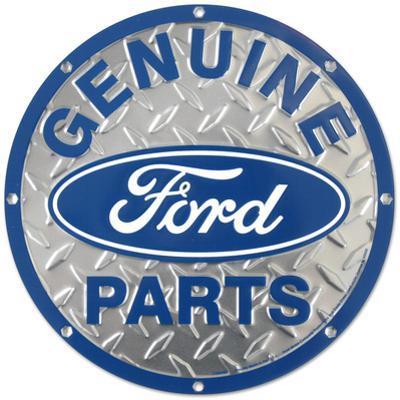 Ford Genuine Parts Diamond Plate Round