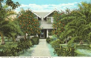 Ford Home, Ft. Myers, Florida