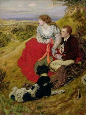 Byron's Dream, 1874 by Ford Madox Brown