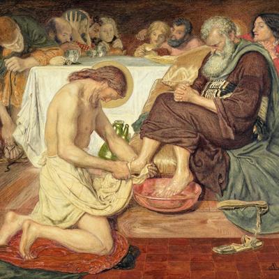 Jesus Washing Peter's Feet, 1876