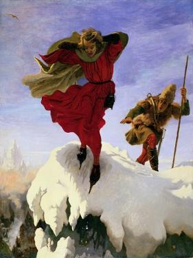 Manfred on the Jungfrau, 1840-61 by Ford Madox Brown
