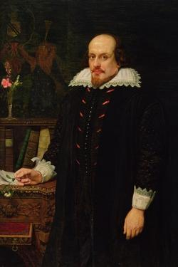 Portrait of William Shakespeare (1564-1616) 1849 by Ford Madox Brown