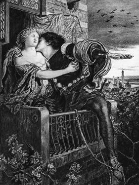 Romeo and Juliet, Late 19th Century by Ford Madox Brown