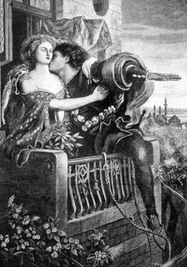 Scene from Shakespeare's Romeo and Juliet, C1860S by Ford Madox Brown
