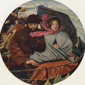 The Last of England, 1855 by Ford Madox Brown