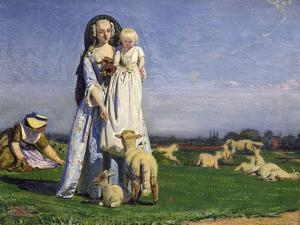 The Pretty Baa-Lambs, 1852 by Ford Madox Brown