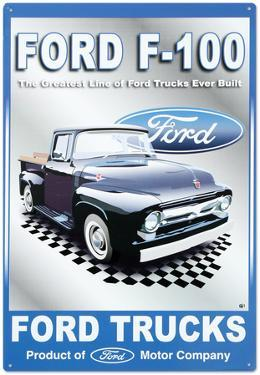 Ford Motor Company F-100 Pickups Trucks