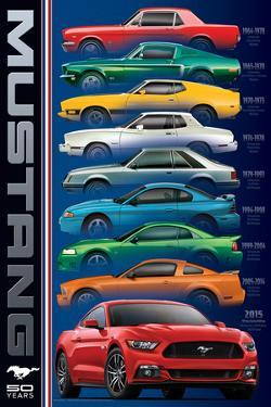 Ford: Mustang- 50 Years 9 Types