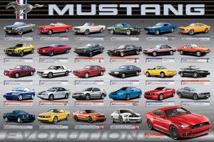 Ford: Mustang- 50 Years Of Evolution
