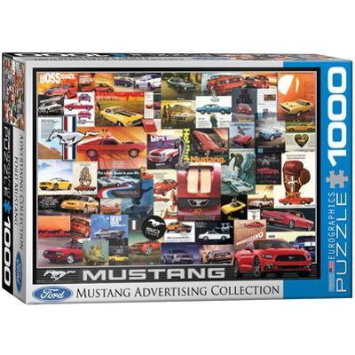Ford Mustang Advertising Collection 1000 Piece Puzzle