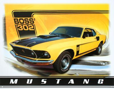 Ford Mustang Boss 302 Car