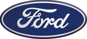 Ford Tin Button Sign