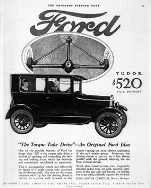 Ford Tudor - Torque Tube Drive