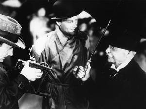 FOREIGN CORRESPONDENT, 1940 directed by ALFRED HICHCOCK Joel Mc Crea (b/w photo)