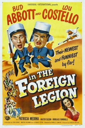 "Foreign Legion, 1950 ""Abbott And Costello In the Foreign Legion"" Directed by Charles Lamont"