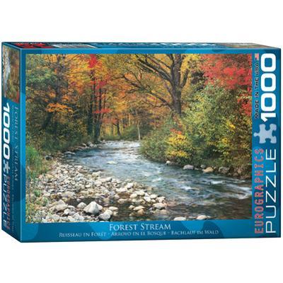 Forest Stream 1000 Piece Puzzle
