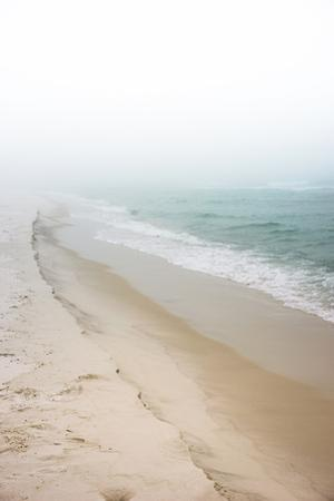 Foggy Dreamy Day at the Beach by forestpath