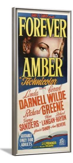 Forever Amber - Australian Style--Framed Poster