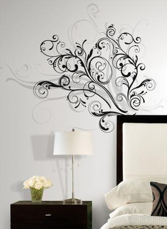 Forever Twined Peel & Stick Giant Wall Decal