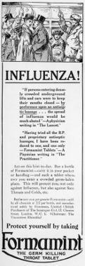 Formamint Throat Tablet 1918