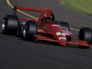 Formula Atlantic Racing Car Action