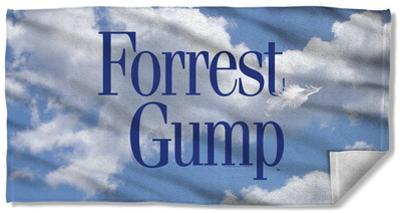 Forrest Gump - Feather Beach Towel
