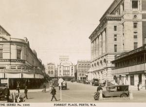 Forrest Place, Perth, Western Australia, 1910