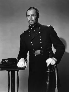 FORT APACHE, 1948 directed by JOHN FORD Henry Fonda (b/w photo)