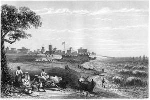 Fort George, Madras, India, C1860