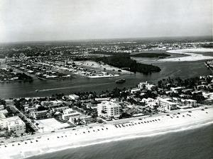 Fort Lauderdale Public Beach, 1951