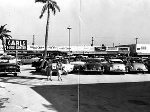 Fort Lauderdale Strip Mall, 1954