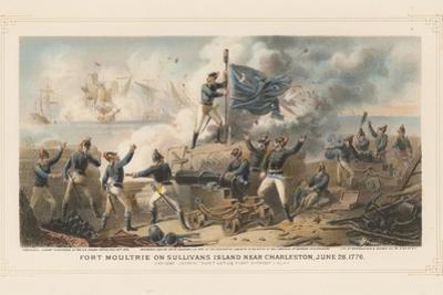 Fort Moultrie on Sullivan's Island Near Charleston, June 28th 1776, 1875