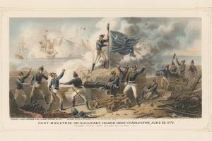 Fort Moultrie on Sullivan's Island Near Charleston, June 28th 1776, 1875